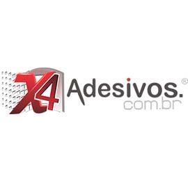 Logo oficial da X4 Adesivos de Parede em São Paulo