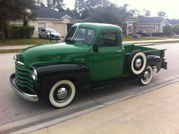1951 Chevy 3100 5 Windows - Old Truck