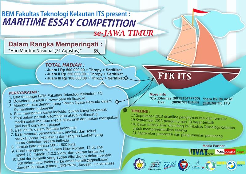 maritime essay