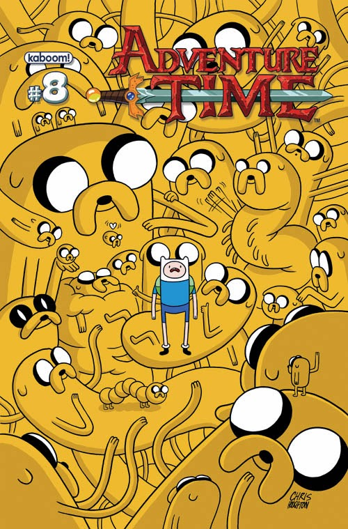 Adventure Time Cartoon Series Comic Book