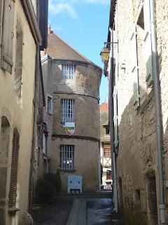 ruelle dans Nolay, cité médiévale, 21