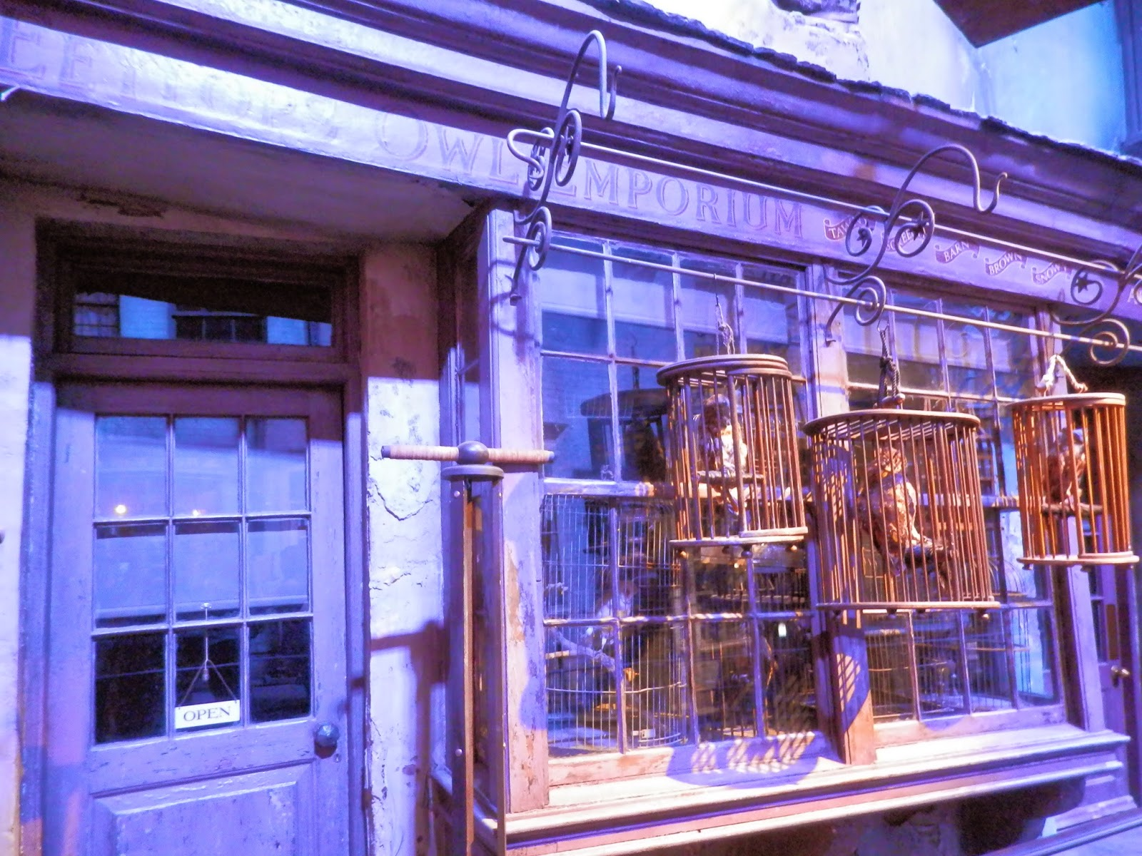 Harry Potter Studio Tour, London. secondhandsusie.blogspot.com