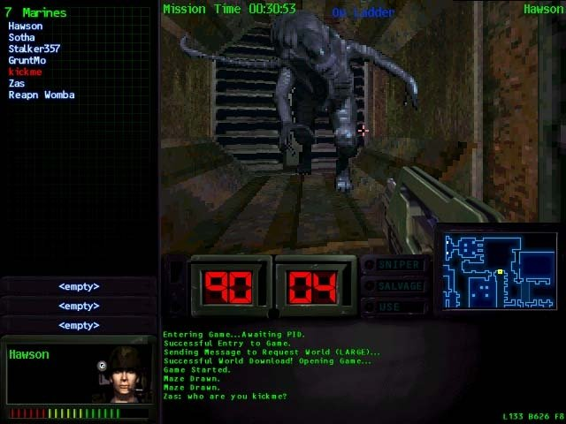 aliens online game