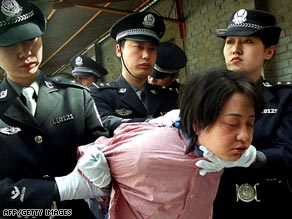 China Death Penalty Executions