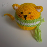 amigurumi crochet ball-cat free pattern