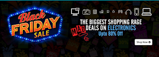 Shopclues black friday sale get 80% off on electronics