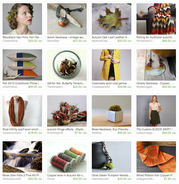 Chic Fall Boutique Gift Guide on Etsy #gifts #fall #autumn #vintage #etsy