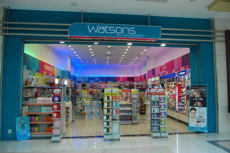 Watsons, online kataloglar ve indirimler Tendeo