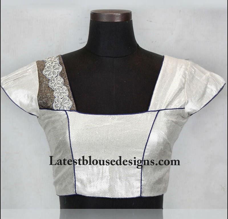 cap sleeves blouse