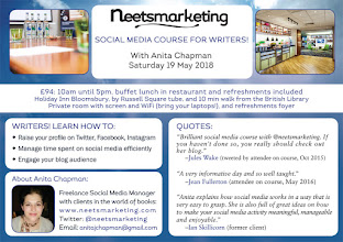 19 May London: Social Media Course for Writers