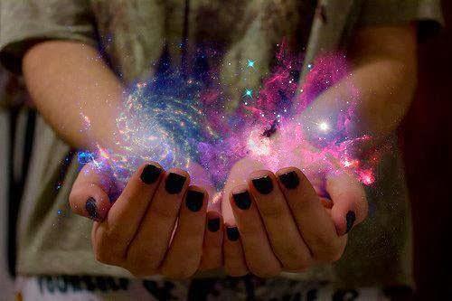 El universo sobre mí.