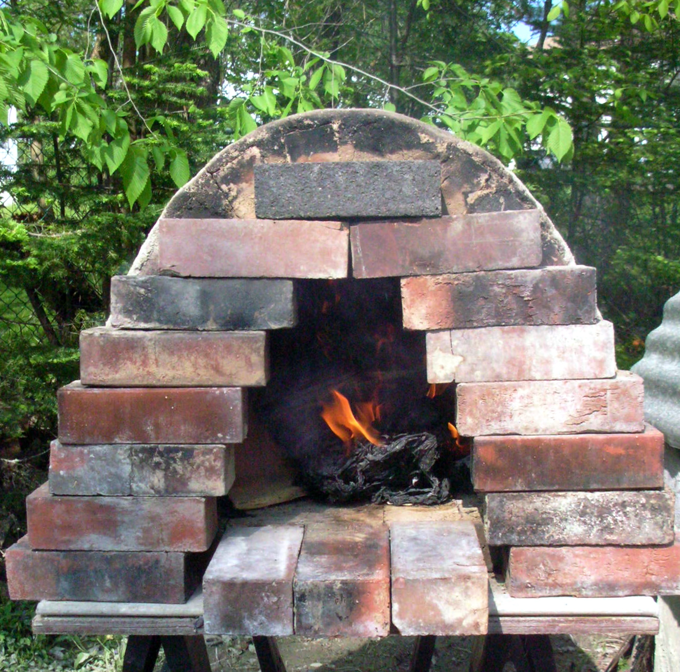 Breadhunter 39 s blog yesterday 39 s workshop - How to build an outdoor brick oven ...