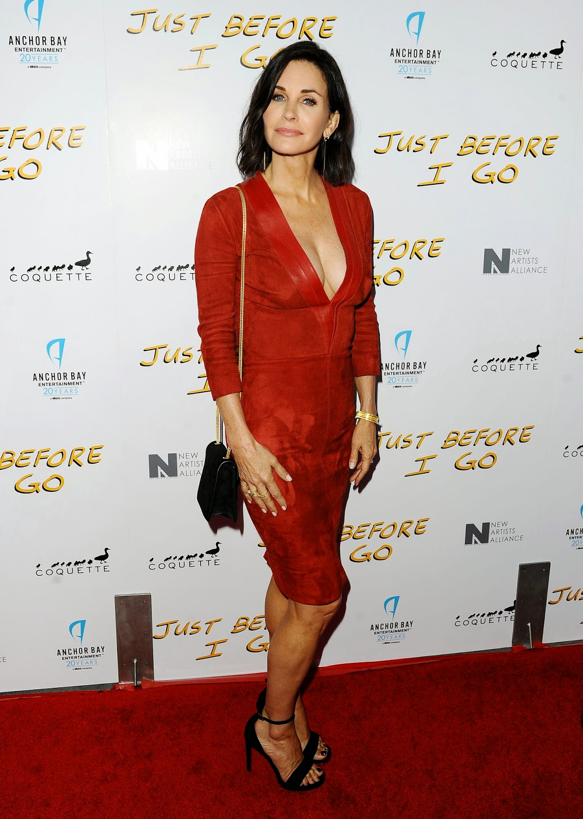 Courteney Cox movie premiere