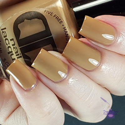 dd nail lacquer mocha mornings