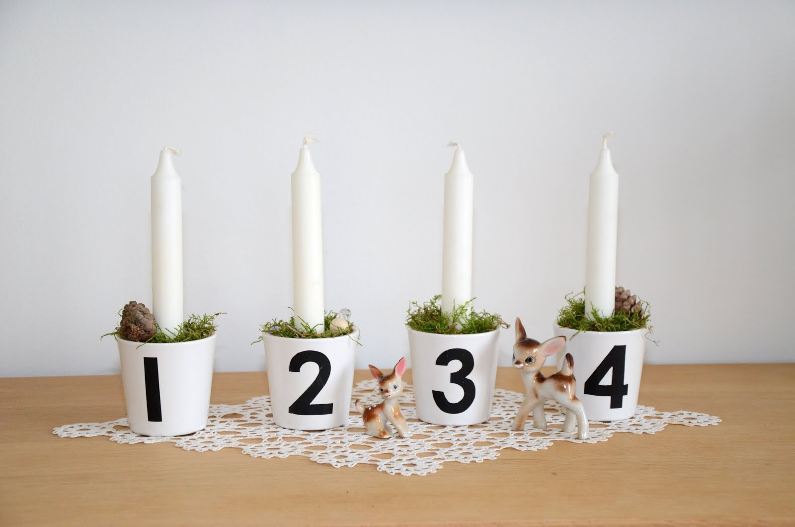 Adventskrans DIY | KreaVilla