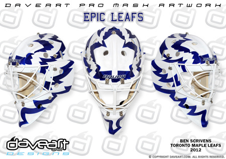 I Love Goalies!: Ben Scrivens 2012-13 Mask