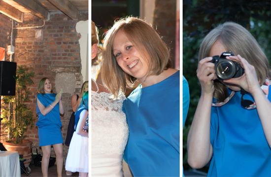 binedoro Blog, Kleid, nähen, sewing, Hochzeit, Wedding, royalblau