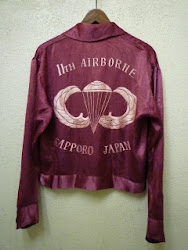 "40's~50's ""11th AIRBORNE""  SOUVENIR JACKET"