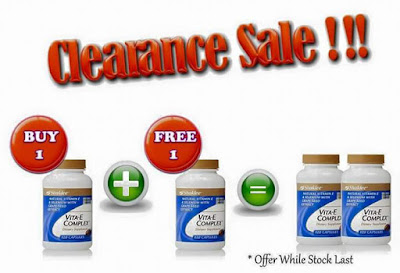 clearance sale vitamin e