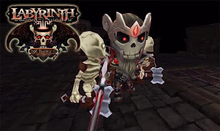 Screenshots of the Labyrinth of battle for Android tablet, phone.