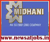 midhani+recruitment