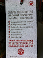 New Belgium chooses Asheville