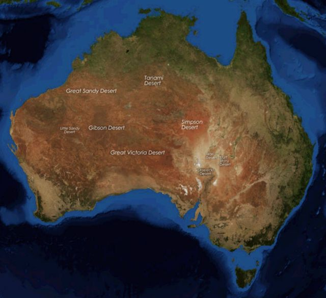 AUSTRALIA DE PUNTA A PUNTA EN BICICLETA 2010