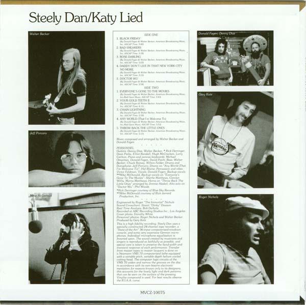 Swingville: Steely Dan - Katy Lied (1975)