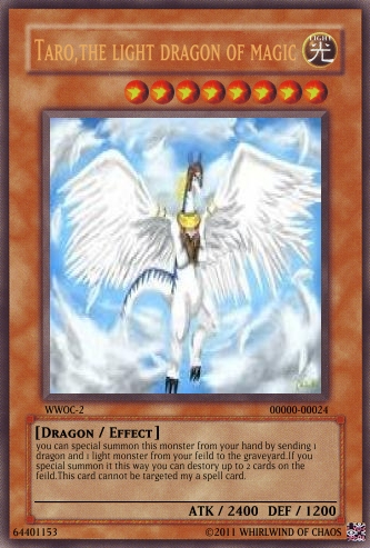 Custom yu gi oh cards whirlwind of chaostaro verse zero quick draw tarothis deck is basically trying to summon taro the light dragon of magic as soon as possiblesince taro has the effect to destory 2 cards on aloadofball Image collections