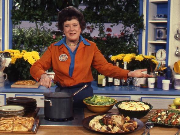 Temperos da amizade julia child - Julia child cooking show ...