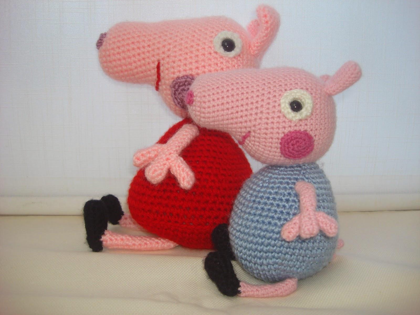 CANAL CROCHET: Amigurumi George Pig