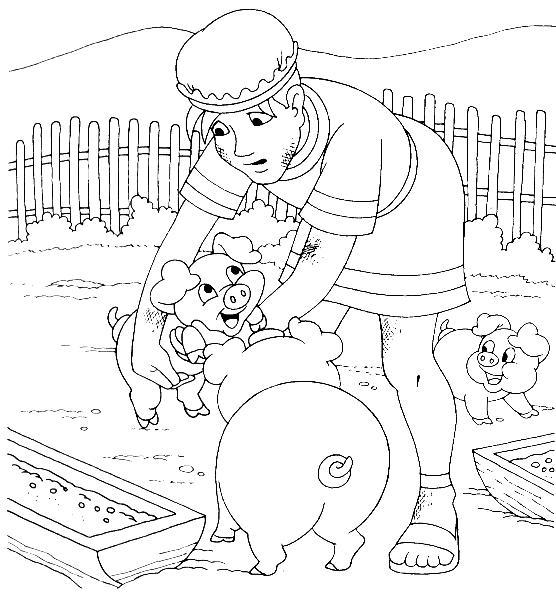 Evangeliza desenhos biblicos para colorir filho pr digo for Prodigal son coloring page for preschoolers
