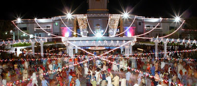 Kripaluji Maharaj's ashram celebrating Divali 2012