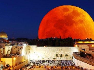 La luna de sangre cambiará la historia de Israel
