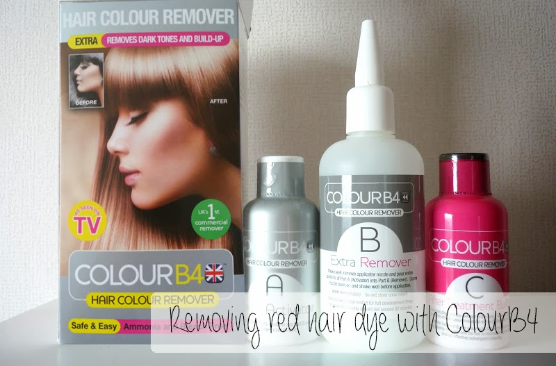 Removing red hair dye using colourb4 dollfaceblogs removing red hair dye with colour b4 solutioingenieria Gallery