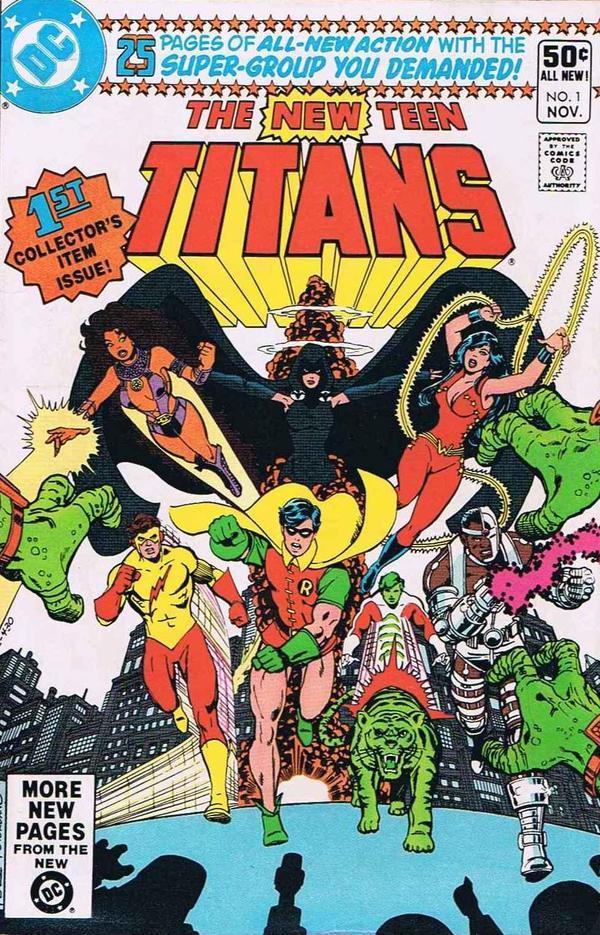 Original Teen Titan Comics