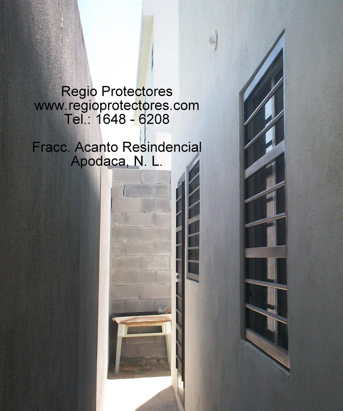 Protectores para ventanas, Fracc. Acanto, Apodaca 03