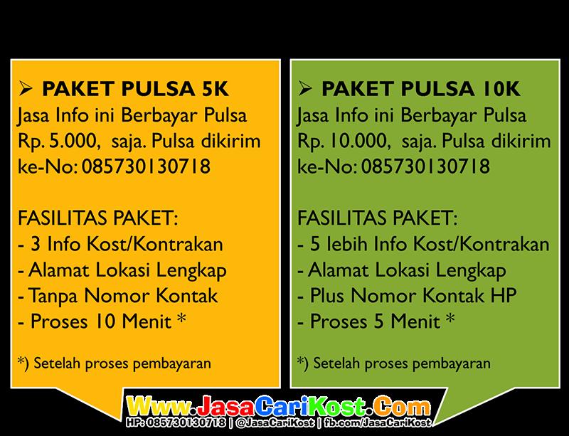 Paket jasa cari info kost murah Malang Indonesia
