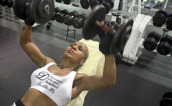 oldest+female+bodybuilder+in+history9 Oldest female bodybuilder in history (10 pics + video)