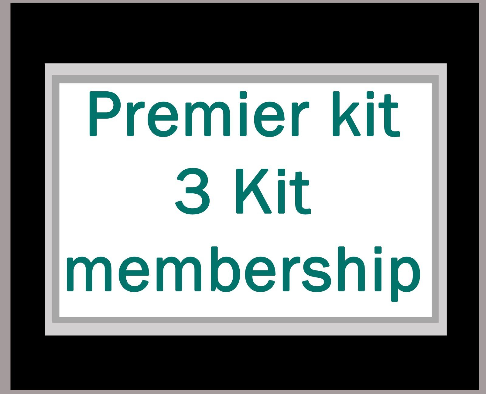 3 Month Kit membership