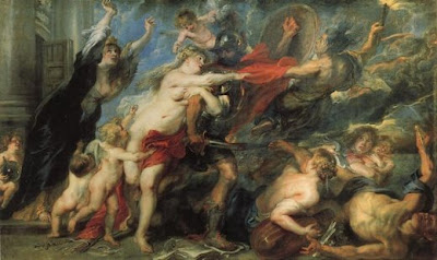 The Consequences of War, Peter Paul Rubens