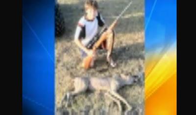 niño joven mata al chupacabras en texas julio 2011