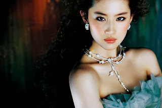 Beauty actress Liu Yi Fei