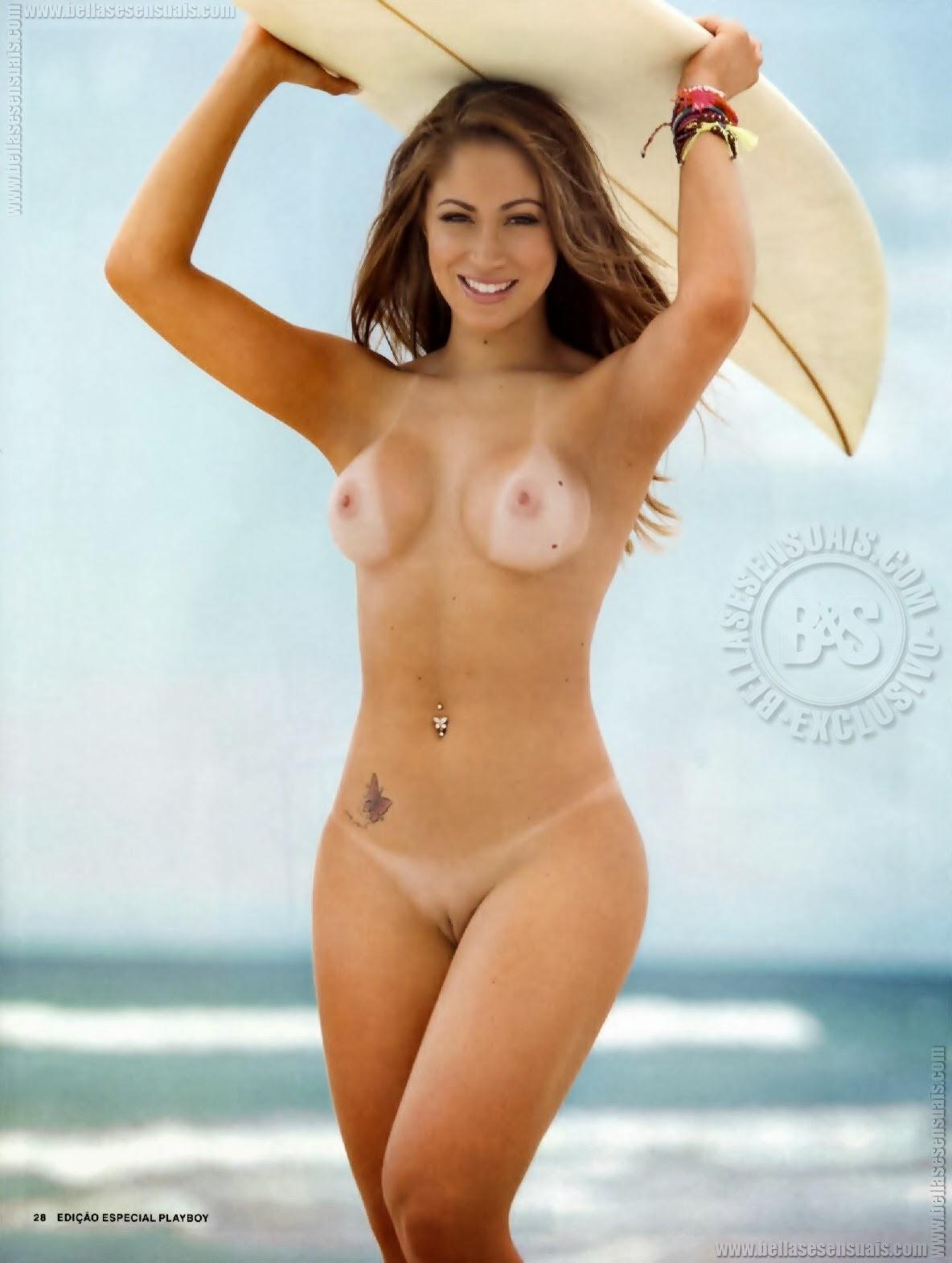 Andressa Ribeiro Playboy