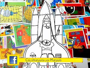 Busca CalcaMunguías y los carteles en FaceBook