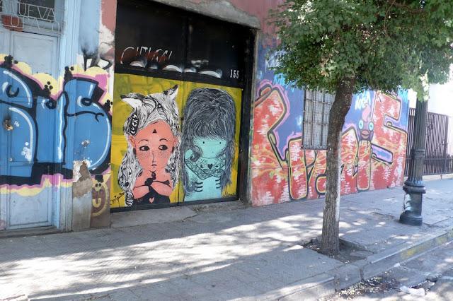 street art santiago de chile bellavista arte callejero