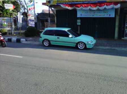 Honda Civic 89 Pajak Panjang