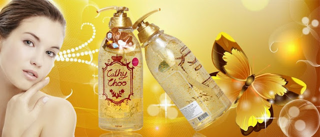Cathy Choo 24 K Active Gold Fragrance Shower Gel