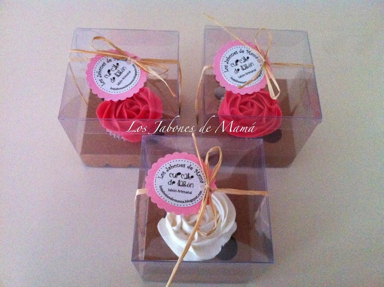 Los jabones de mam regalo de navidad cupcake en caja - Regalos de navidad para mama ...