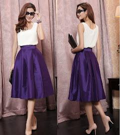 Vintage 60s Classic Big Swing Skirts (Premium)